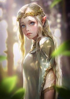 Эльфийская дева