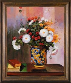 Why Hon File Cabinets Are The Only Option For Your Property Or Office Theodore Robinson, Bouquet Of Flowers: Chrysanthemums In A China Vase Pre-Framed Oil Reporduction Canvas Frame, Oil On Canvas, Canvas Art, Canvas Prints, Theodore Robinson, Home And Deco, Famous Artists, Warm Colors, Metal Wall Art
