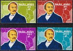 Malawi 1973 Livingstone Map Set Fine Mint    SG 435 - 438 Scott 204 - 207    Condition  Fine MNHOnly one post charge applied on multipul purchases