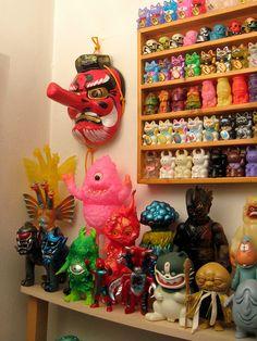 Yamabushi Tengu & Toys by The Moog Image Dump, via Flickr