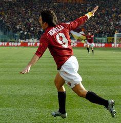 As Roma Nel Cuore Vincenzo Montella - AS Roma - World Famous Airplane Goal Celebration Daje Roma Daje!