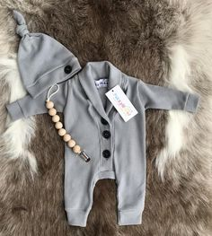 519590df598 Dark Gray with Monogrammed Options Baby Boy Clothes. Going Home Outfit  Newborn Boy. Take