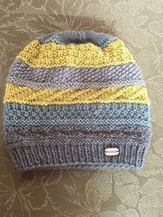 Ravelry: Swift 6 Gansey Sampler Hat pattern by Anne Carroll Gilmour
