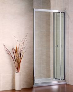 700mm Bifold Shower Door + 1000x700mm stone tray [NS2-70+ASR7010] - £126.99 :