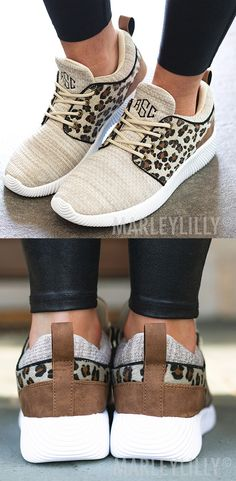 Ariat® Ladies Unbridled Ace Leopard Brown Suede Shoes 10022994