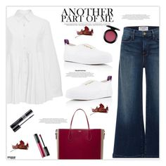 """""""Weekend Love"""" by marion-fashionista-diva-miller ❤ liked on Polyvore featuring CO, Frame Denim, Rochas, Eytys, MAKE UP FOR EVER, MAC Cosmetics, Christian Dior, weekendstyle, weekendlove and weekengirl"""