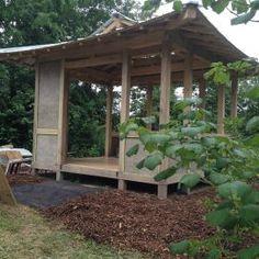 Outdoor Gazebos, Backyard Gazebo, Garden Gazebo, Backyard Landscaping, Wooden Pergola, Diy Pergola, Pergola Kits, Garden Structures, Outdoor Structures