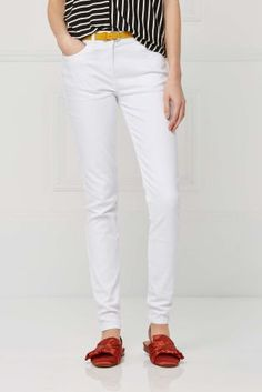 Mid Rise Super Skinny Jeans | Super magro, Jeans skinny e Justa