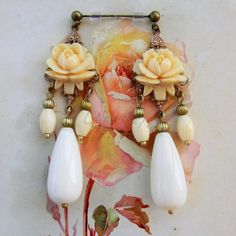 Victorian Cameo®: Victorian Cameo, orecchini per la sposa romantica