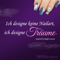 #nailart #dreams #design #spruch