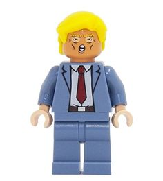 Donald Trump - miniBIGS Custom LEGO Minifigure *** You can get more details by clicking on the image.
