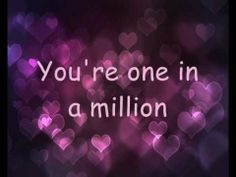 Miley Cyrus - One In A Million Lyrics   I love this song!