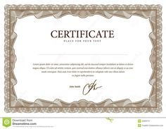 Template Certificate, Currency And Diplomas. Stock Image - Image: 32309731