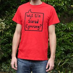 Wyt ti'n siarad Cymraeg? Do you speak Welsh?  welshgiftshop.com