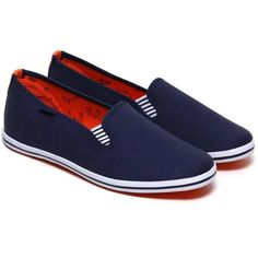Classics Pacific Blue by Portovelo ($41) ❤ liked on Polyvore featuring shoes, sport shoes, nautical shoes, slipon shoes, sports footwear and blue slip on shoes