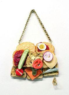 Bread Bags by artist Chloe Wise.