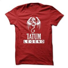 Dragon - TATUM Legend TM003 - #tshirt painting #lace sweatshirt. MORE INFO => https://www.sunfrog.com/Names/Dragon--TATUM-Legend-TM003.html?68278