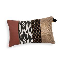 Kissenbezug MUSHU aus Baumwolle 30 x 50 cm