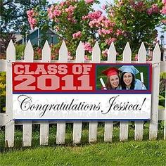 graduation banners ideas | Graduation Banners - Class Of | Personalized gifts and gift ideas ...