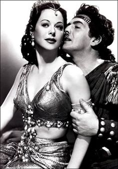 Hedy Lamarr - Samson and Delilah - costume by Edith Head