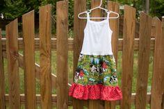 Belle + Bee: Tank Dress Tutorial