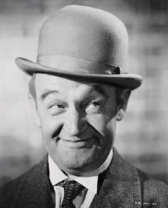 Barry Fitzgerald, all I have to do is think of him and I hear his wonderful Irish brogue.  that man was born to be a character actor.