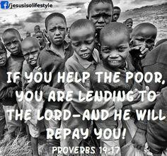 Help the poor...