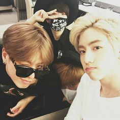 Yugyeom, Youngjae, BamBam and Mark