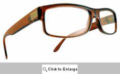 2a56290670 DG Rectangular Reading Glasses - 173R Brown