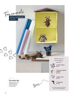 DIY CATALOGUE 2019—Page 30 Diy Fashion Accessories, Glue Gun, Reuse, Toy Chest, Storage Chest, Catalog, Children, How To Make, Fun