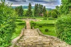 Forgoten Garden - Garden located on the South of Sanguszko Palace - Tarnow - Southern Poland