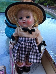 PRICE REDUCED Ginny SL doll excellent original box #43 Beryl, Tiny Miss #Dolls