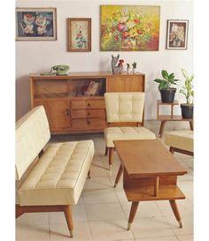 63 ideas decor retro bedroom interior design for 2019 Couch Furniture, Furniture Design, Furniture Vintage, Vintage Chairs, Rustic Furniture, Furniture Ideas, Living Room Sofa, Living Room Decor, Bedroom Decor
