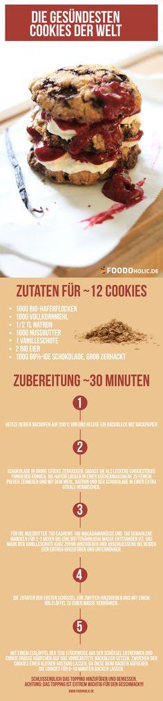 gesunde-cookies-foodoholic gesunde cookies ohne zucker Das hier sind die gesündesten Cookies auf Erden: Vollkorn, 0.5g Zucker, 99%-ige Schokolade gesunde cookies foodoholic