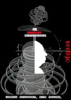 VERTIGO 70x100cm Vertigo, Posters, Graphic Design, Cover, Prints, Poster, Billboard, Visual Communication