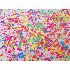 splatter paint on a canvas found on Polyvore
