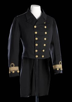 Royal Naval uniform: pattern 1864 - National Maritime Museum