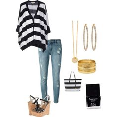 Mk striped outfit