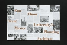 Trent University Architecture Walking Tour Editorial | Graphic Design by Josh Nychuk