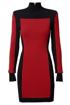 Balmain Black and Red H&m Color 2015 Runway Fashion Show Short Night Out Dress Size 2 (XS) Fashion Week, Runway Fashion, Fashion Show, Fashion Outfits, Fashion Design, H&m Collaboration, Balmain Dress, Casual Dresses, Dresses For Work
