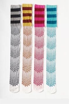 eley kishimoto teardrop veil stripe tights