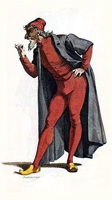 Pantalone of the Commedia