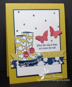 CT0213 Here comes the sun by stampercamper - Cards and Paper Crafts at Splitcoaststampers