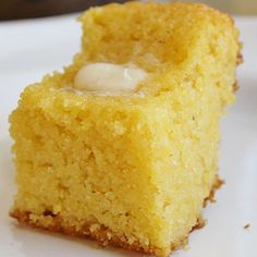 High Heels and Grills: Sweet Corn Bread. This is the best corn bread I have ever had. And it's really easy too! High Heels and Grills: Sweet Corn Bread. This is the best corn bread I have ever had. And it's really easy too! I Love Food, Good Food, Yummy Food, Great Recipes, Favorite Recipes, Sweet Corn Recipes, Yummy Recipes, Dessert Recipes, Healthy Recipes