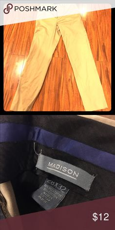 Just plain ole khaki pants Madison Khaki pants 28 x 32 Madison Pants Chinos & Khakis