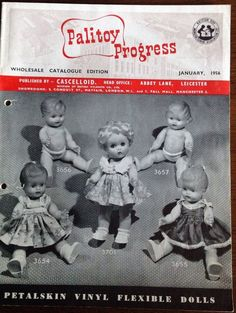 Palitoy Trade 1956 rare toy & doll catalogue 16 pages | eBay
