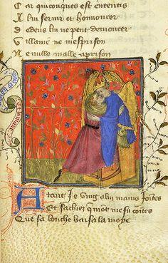 Roman de la Rose, MS M.245 fol. 15r - Images from Medieval and Renaissance Manuscripts - The Morgan Library & Museum