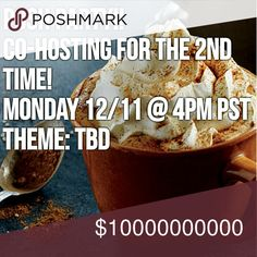HOSTING MY SECOND POSH PARTY!! I am so excited to announce I will be Co-Hosting my SECOND party in December! Please help spread the news and leave me names of Poshmark compliant closets to review for Host Picks!! I will announce the party theme as soon as I find out! Woot Woot!! Party Time!!! Thank you in advance for helping make this party a success! Dresses