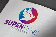 Check out Super Dove Logo by samedia on Creative Market