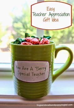 Easy Teacher Appreciation Gift Idea - FSPDT